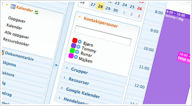 Kalender screenshot